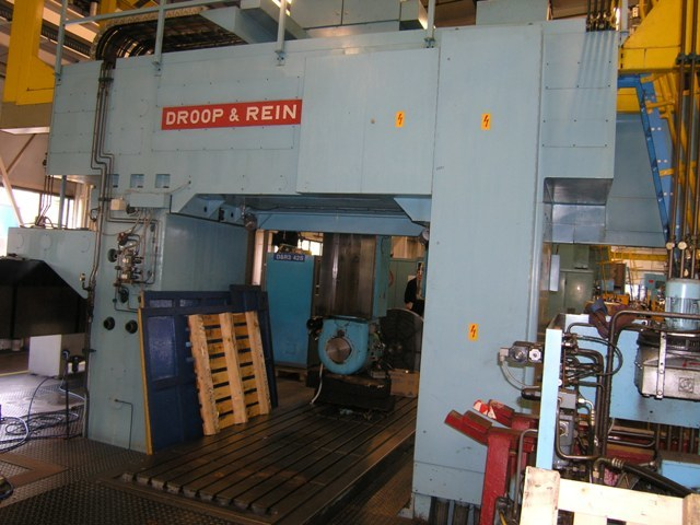 1 – USED DROOP & REIN CNC BRIDGE TYPE VMC C-4088