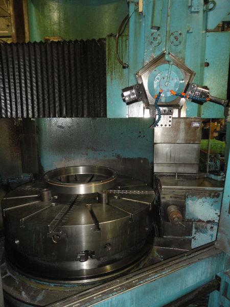 """1 – USED 60"""" VLN 14 MONARCH/MORANDO CNC VERTICAL TURRET LATHE"""