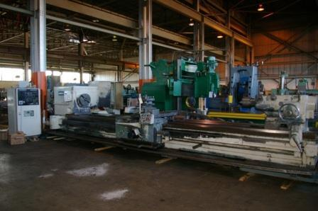 "1 - USED 45"" X 240"" AMERICAN CNC TURNING CENTER C-3666"