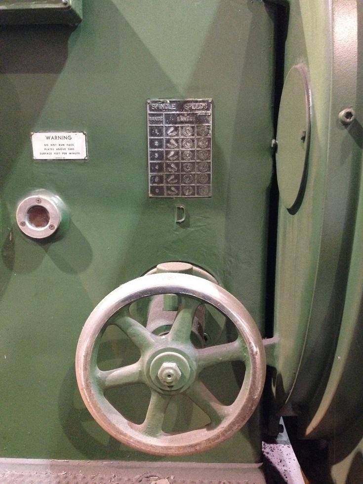 "1 – USED 84"" X 288"" LEBLOND HEAVY DUTY CNC LATHE"