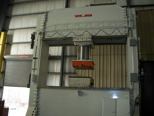 1 - USED 1000 TON URSVIKEN PORTAL HYDRAULIC PRESS C-3073