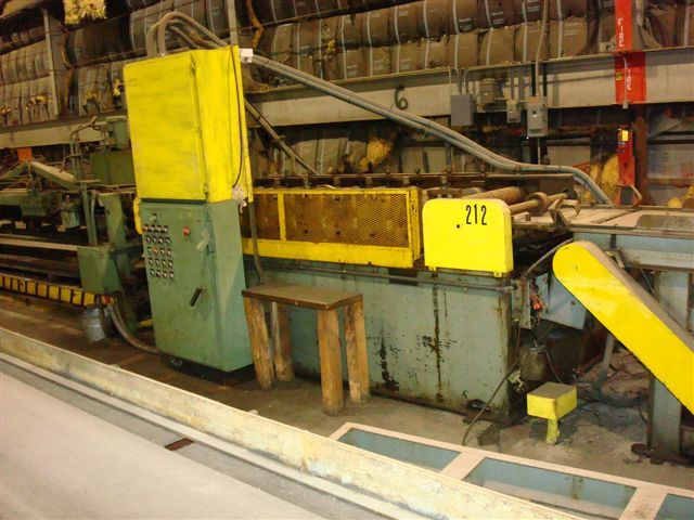 1 - USED 10-STAND DAHLSTROM ROLL FORMING LINE, MODEL 450-10 14450