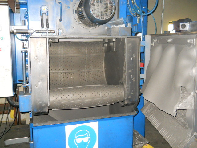1 – USED MODEL T5OR WHEELABRATOR (USF SURFACE PREP)TUMBLAST BLAST CLEANING/AIR & SUCTION C-3905