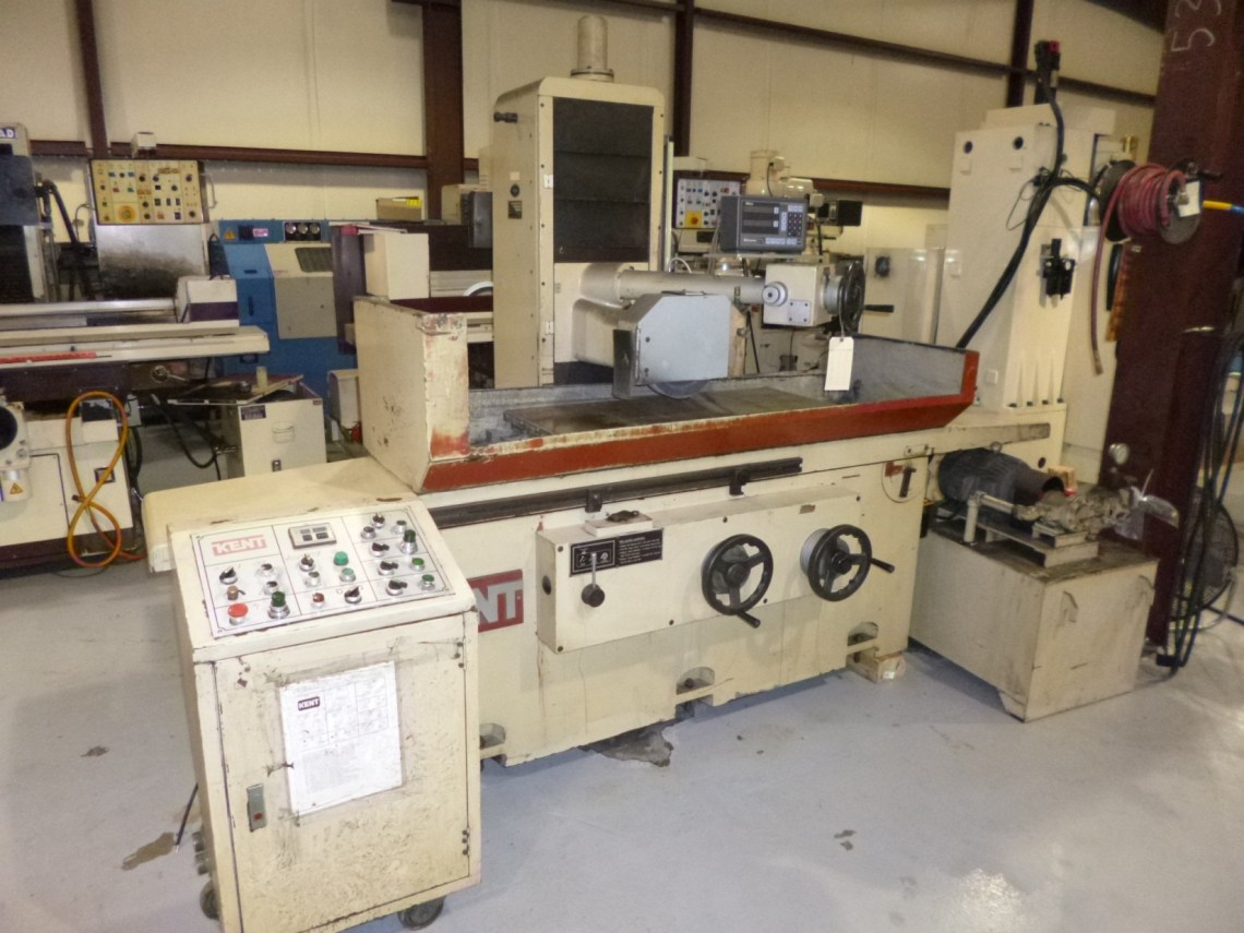 "1 - USED 16"" X 40"" KENT KGS 410 ADH AUTOMATIC SURFACE GRINDER C-4118"