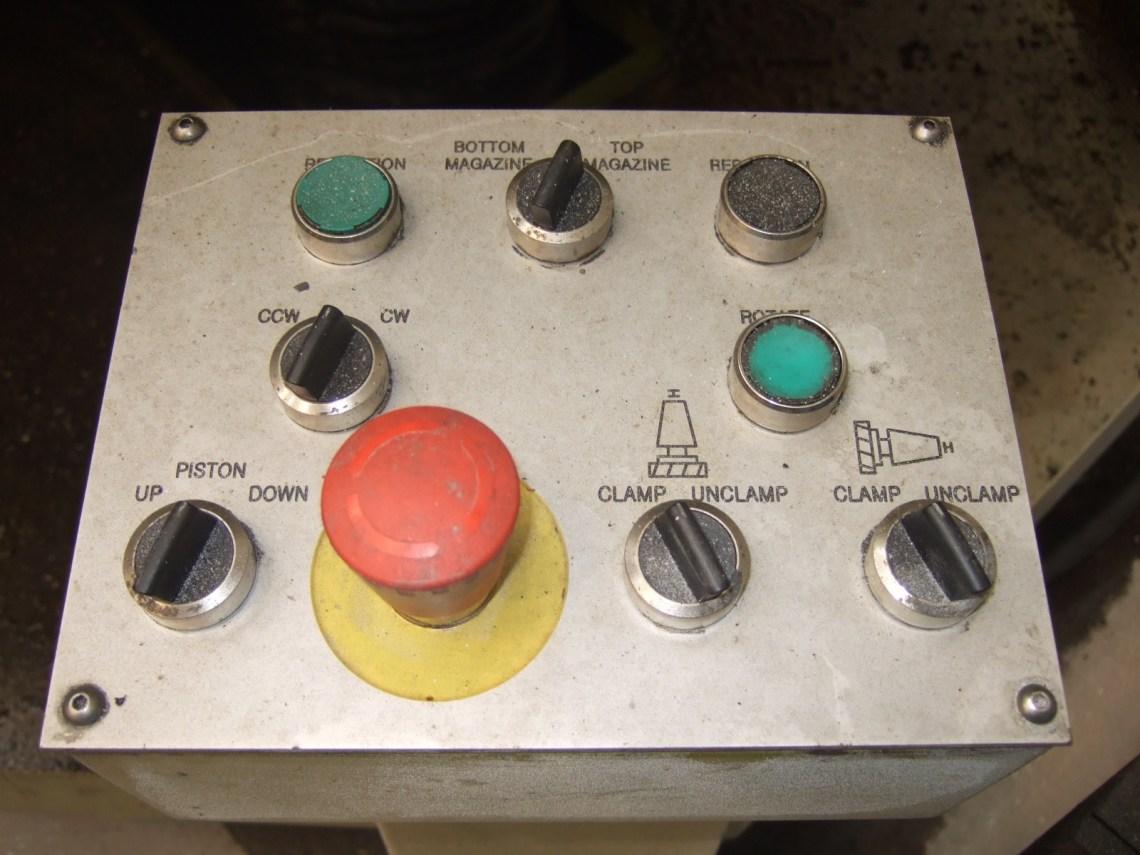 "1 – USED 60"" SCHIESS – PENSOTTI NDM 160 VTL"