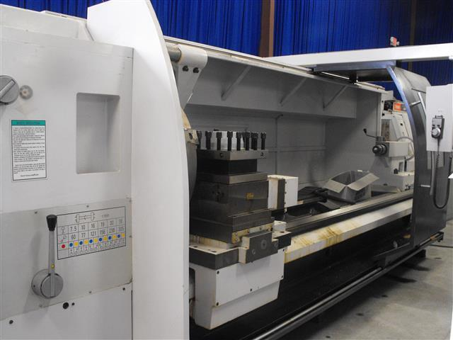 "1 - NEW 35"" X 118"" SMTCL CNC HOLLOW (14"") SPINDLE LATHE"
