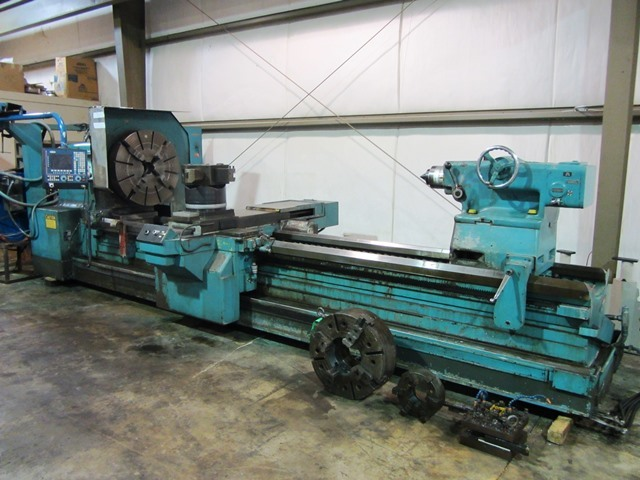 "1 - USED MONARCH 48""X 160' CNC FLAT BED LATHE C-4258"