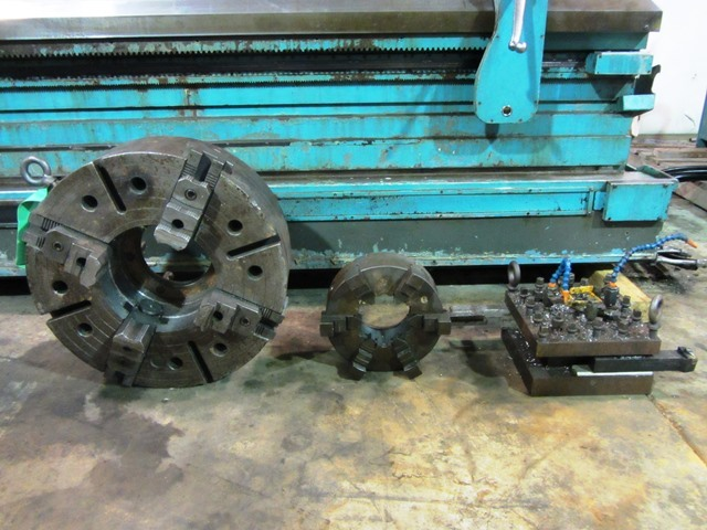 "1 - USED MONARCH 48""X 160' CNC FLAT BED LATHE"