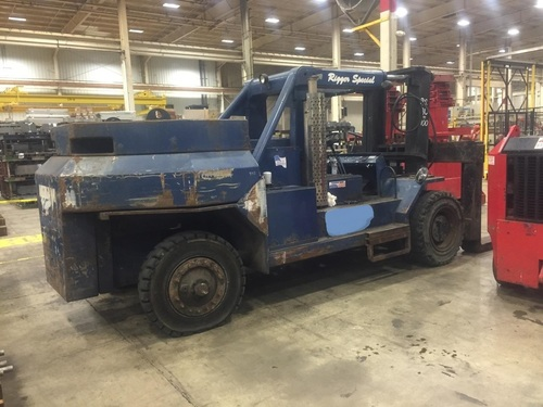 1 - USED 80,000 / 100,000 LB. BRISTOL RIGGER SPECIAL FORK LIFT, MODEL 80-100 C-4270