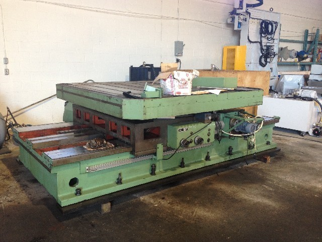 1 - USED TOS ISO 16 ROTARY TABLE WITH 2-AXIS DRO C-4276