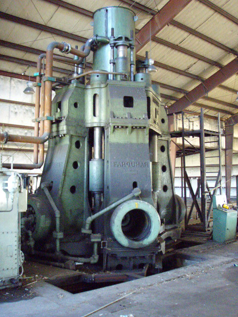1 – USED 3500/7200 TON FARQUHAR HYDRAULIC FORGING PRESS C-3821