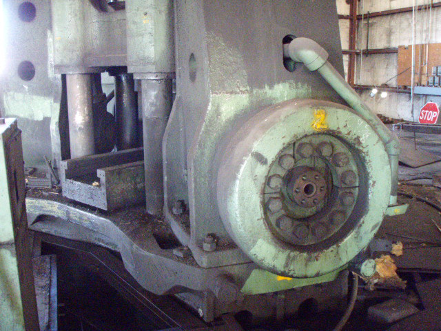 1 – USED 3500/7200 TON FARQUHAR HYDRAULIC FORGING PRESS