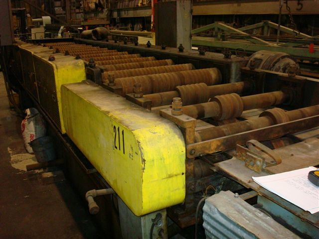 1 - USED 17-STAND TISHKEN ROLL FORMING LINE MODEL 14HW 2