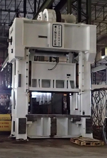 1 - USED 250 TON MINSTER E2-250-84-50 HEVI-STAMPER SSDC PRESS