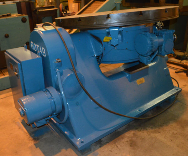 "1 - USED 60"" ROTAB T-SLOTTED TILTING POWER ROTARY TABLE"