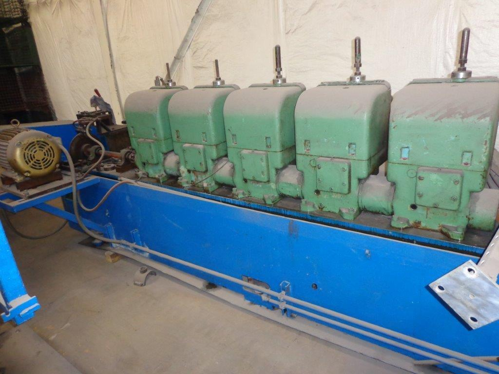 1 - USED 5 STAND YODER ROLL FORMER C-3969