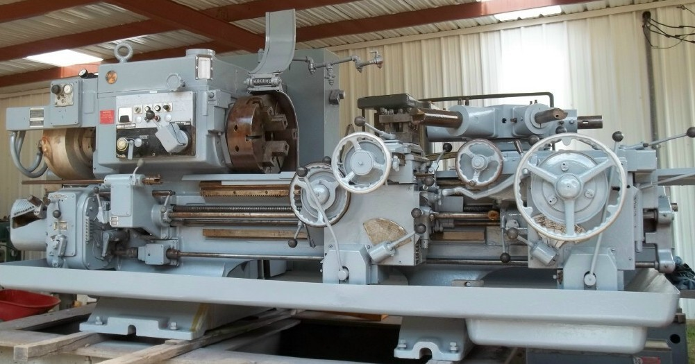 1 - USED #2A WARNER & SWASEY SQUARE HEAD SADDLE TYPE TURRET LATHE WITH CROSS SLIDING HEX C-4356