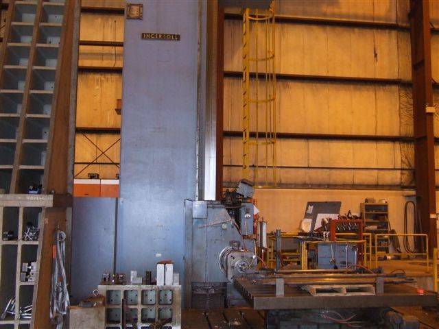 "1 - USED 7"" INGERSOLL RAM/FLOOR TYPE HORIZONTAL BORING MILL"