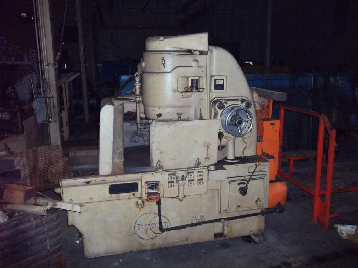 """1 - USED MODEL 18-36 36"""" BLANCHARD VERTICAL SPINDLE ROTARY SURFACE GRINDER C-4347"""