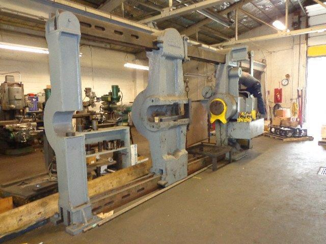 1 – USED 600 TON NILES NON-INCLINED HYDRAULIC WHEEL PRESS C-4165