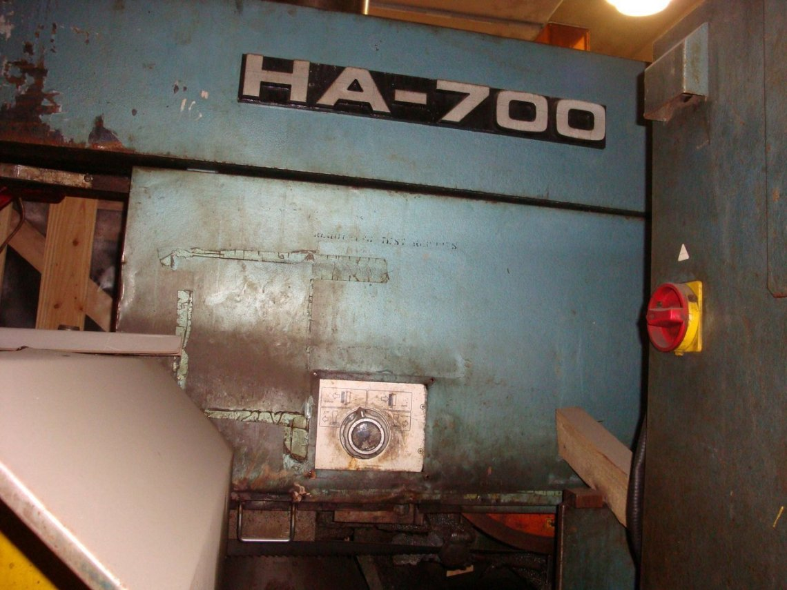 "1 – USED 28"" X 31 ½"" AMADA HORIZONTAL BAND SAW"