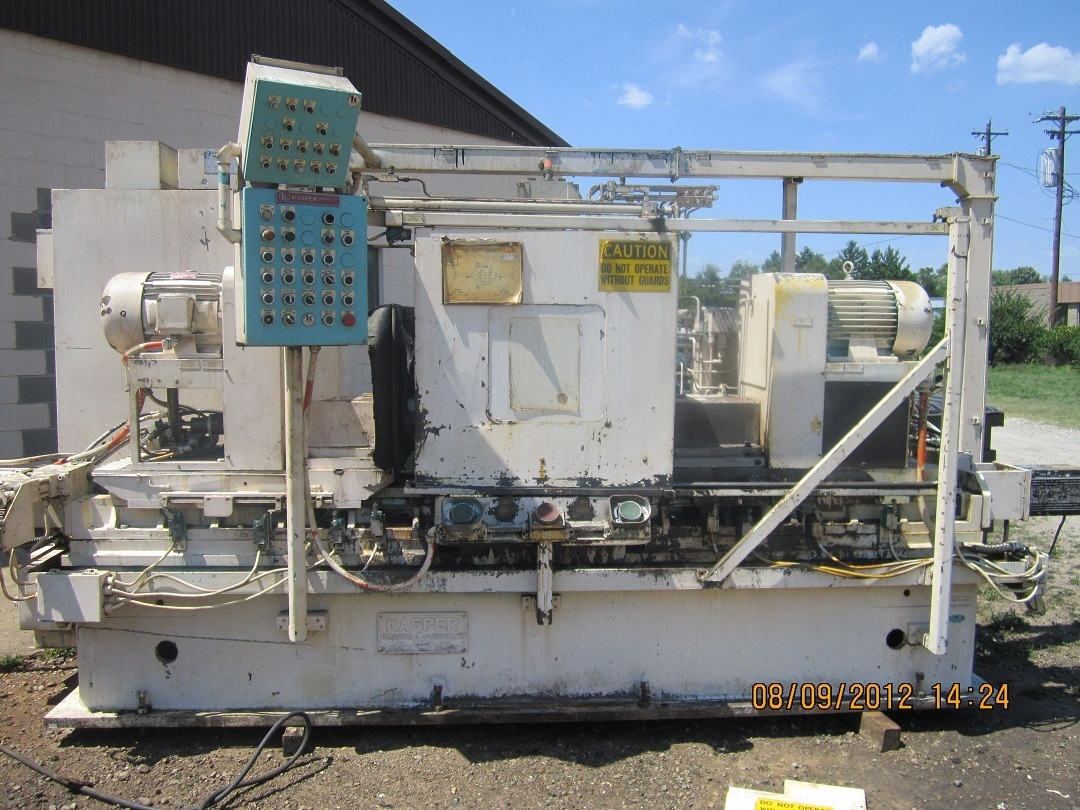 1 - USED KASPER HYDRAULIC DOUBLE END AUTOMATIC BORING MACHINE C-4381
