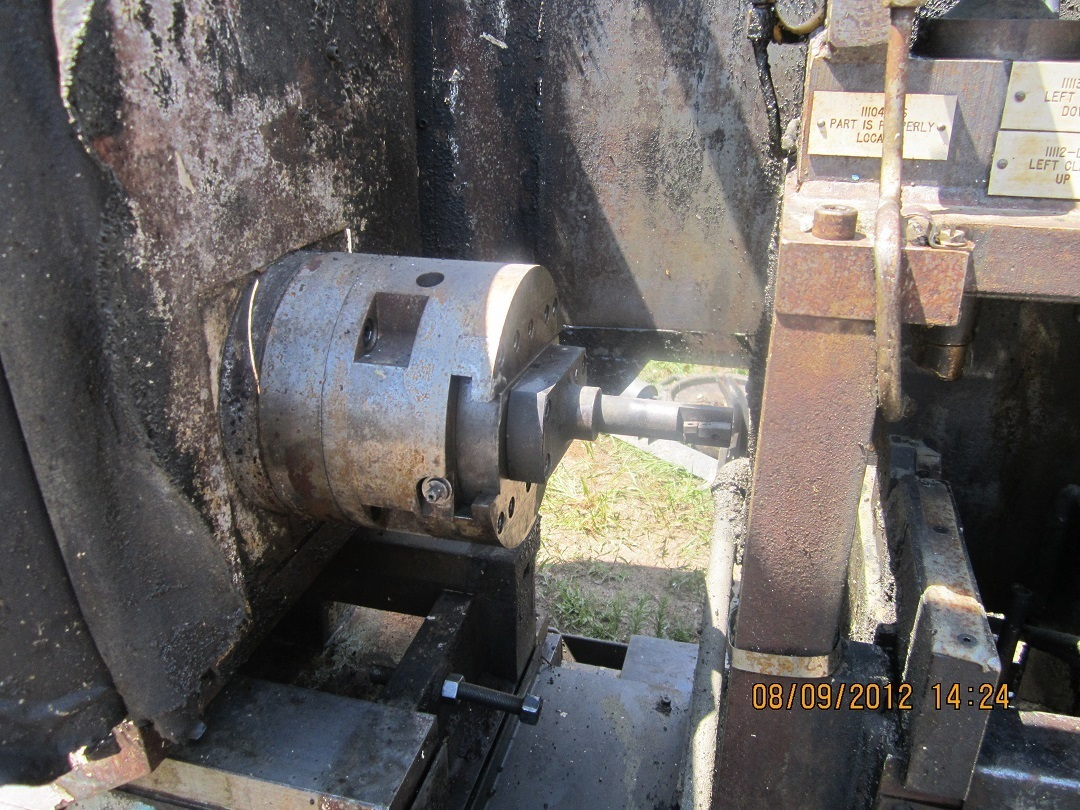 1 - USED KASPER HYDRAULIC DOUBLE END AUTOMATIC BORING MACHINE