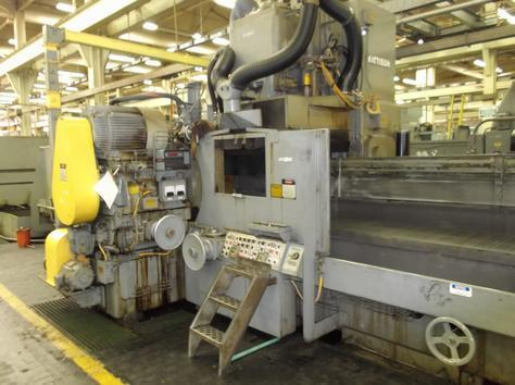 "1 – USED 24"" X 96"" MATTISON HYDRAULIC HORIZONTAL/VERTICAL SPINDLE COMBO SURFACE GRINDER C-4452"