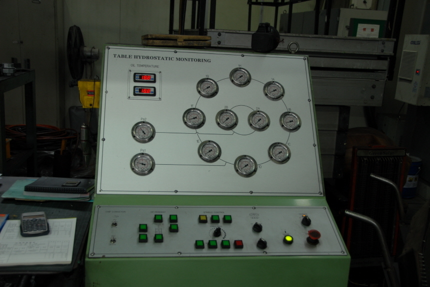 """1 – USED (300"""") 7,620mm X (360"""") 9,144mm NILES CNC DOUBLE COLUMN VERTICAL TURNING LATHE"""