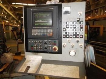 "1 – USED VDF WOHLENBERG MODEL 1070 S 45"" X 338"" CNC FLAT BED LATHE"