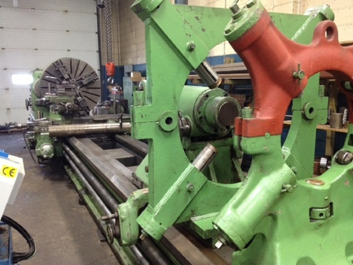 "1 – USED 53"" X 268"" VDF MANUAL ENGINE LATHE C-5053"