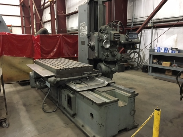 1 - USED MODEL 4B-72 DEVLIEG PRECISION JIG MILL C-4353