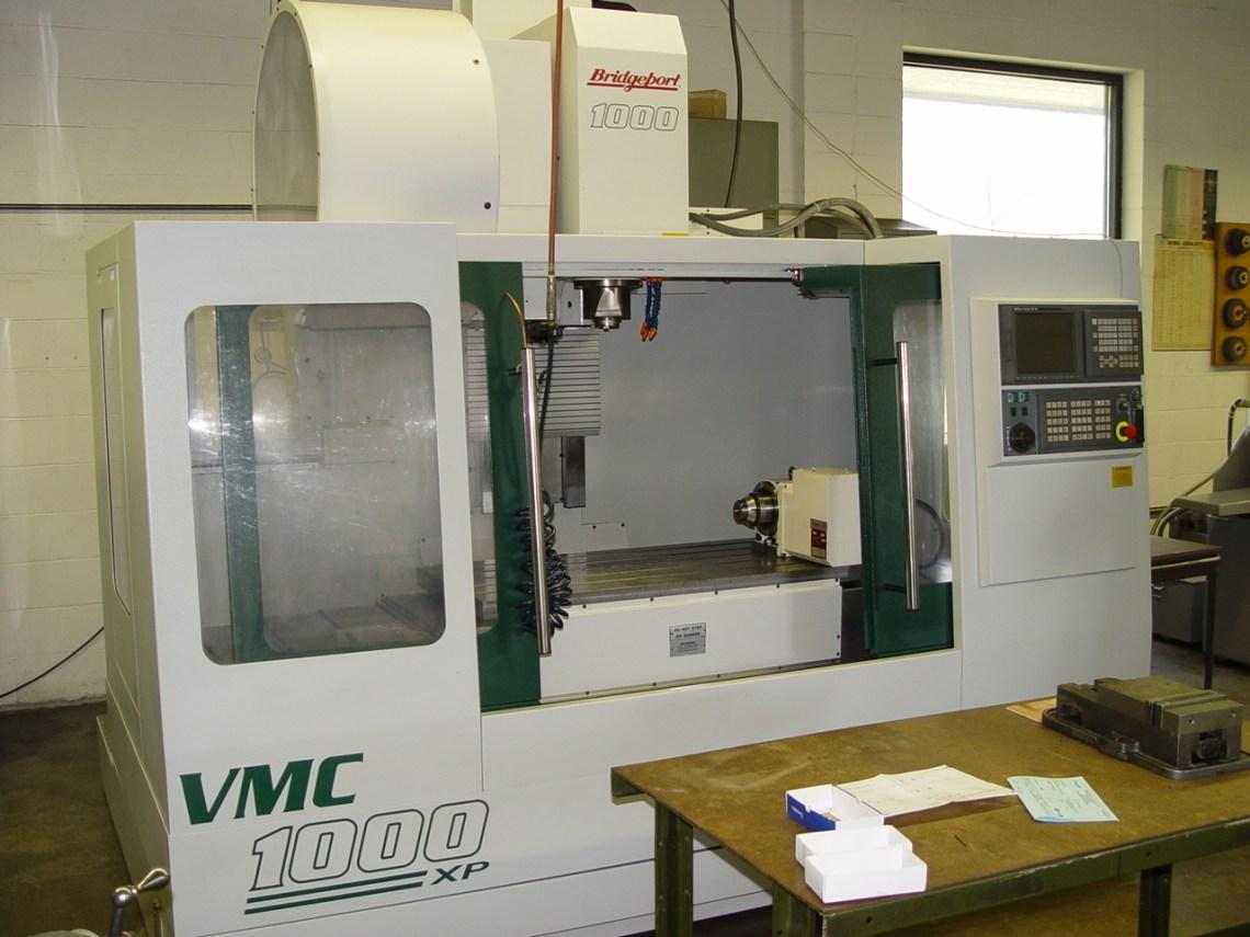 1 – USED 2001 BRIDGEPORT VMC1000XP C-5064