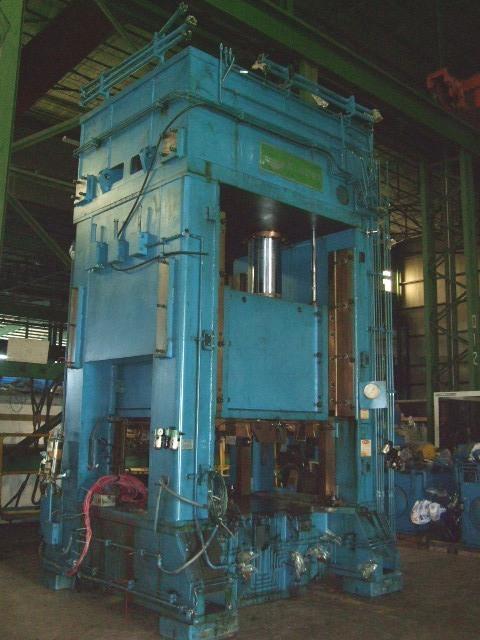 1 – USED 500 TON P.H. HYDRAULICS, HYDRAULIC PRESS C-5035