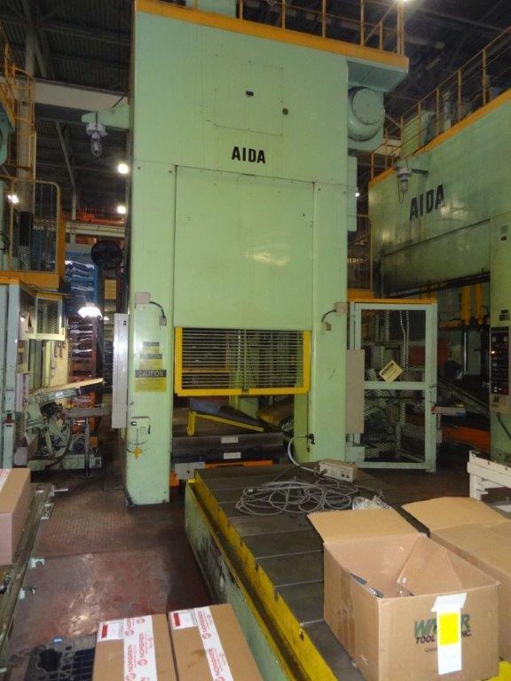 4 – USED 550 TON AIDA TANDEM LINE PRESSES C-5084