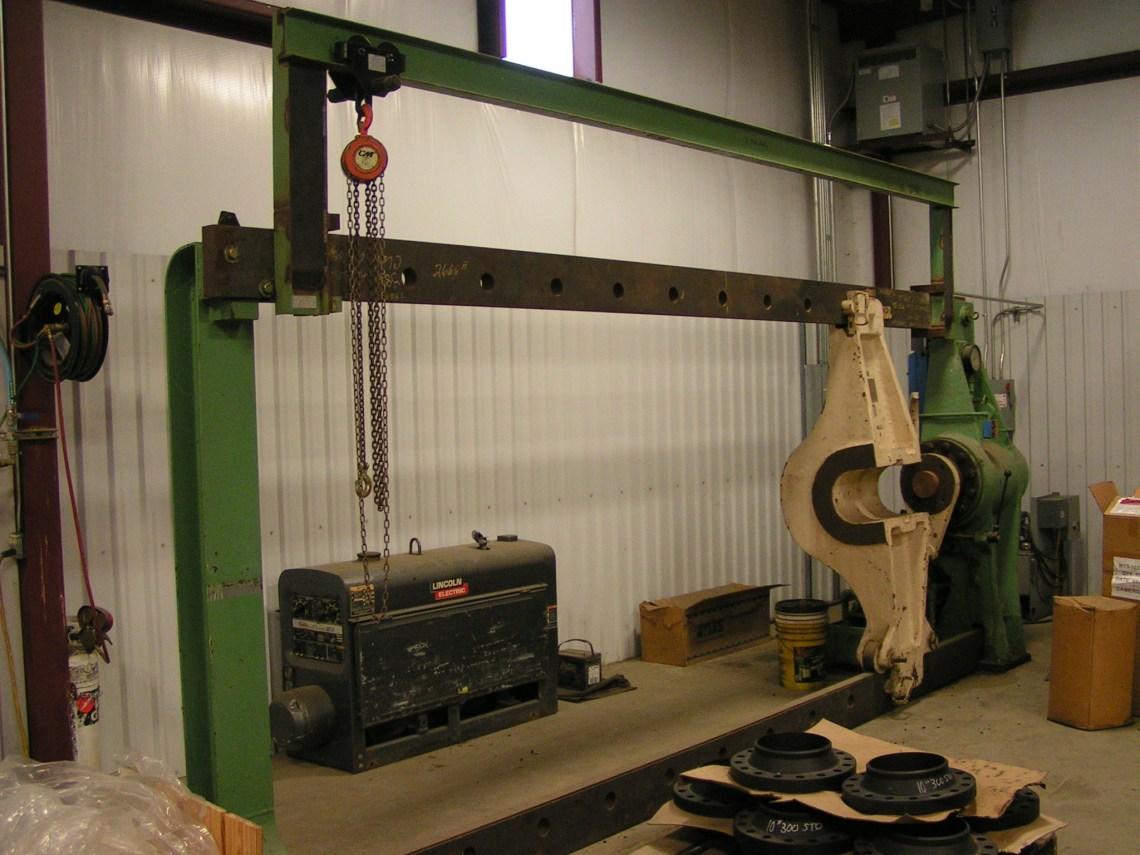 1 – USED 200 TON WATSON STILLMAN HYDRAULIC WHEEL PRESS C-3797