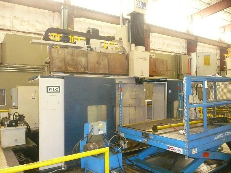 1 – USED CNC HNK VERTICAL BORING MILL WITH AUTOMATIC TOOL CHANGER