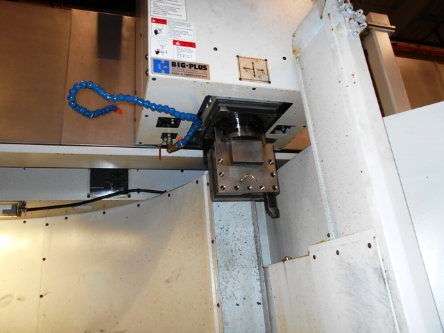 1 – USED MIGHTY VIPER 20-24M CNC VERTICAL BORING MILL WITH C AXIS MILLING TABLE AND LIVE SPINDLE IN RAM