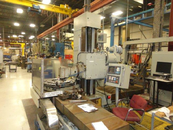 "1 – USED 4.33"" WONTAN CNC TABLE TYPE HORIZONTAL BORING MILL C-5142"