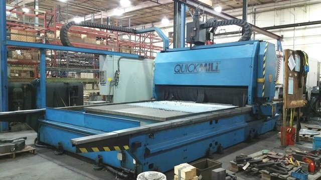 "1 – USED 96"" X 180"" GANTRY MILL (QUICK MILL)"