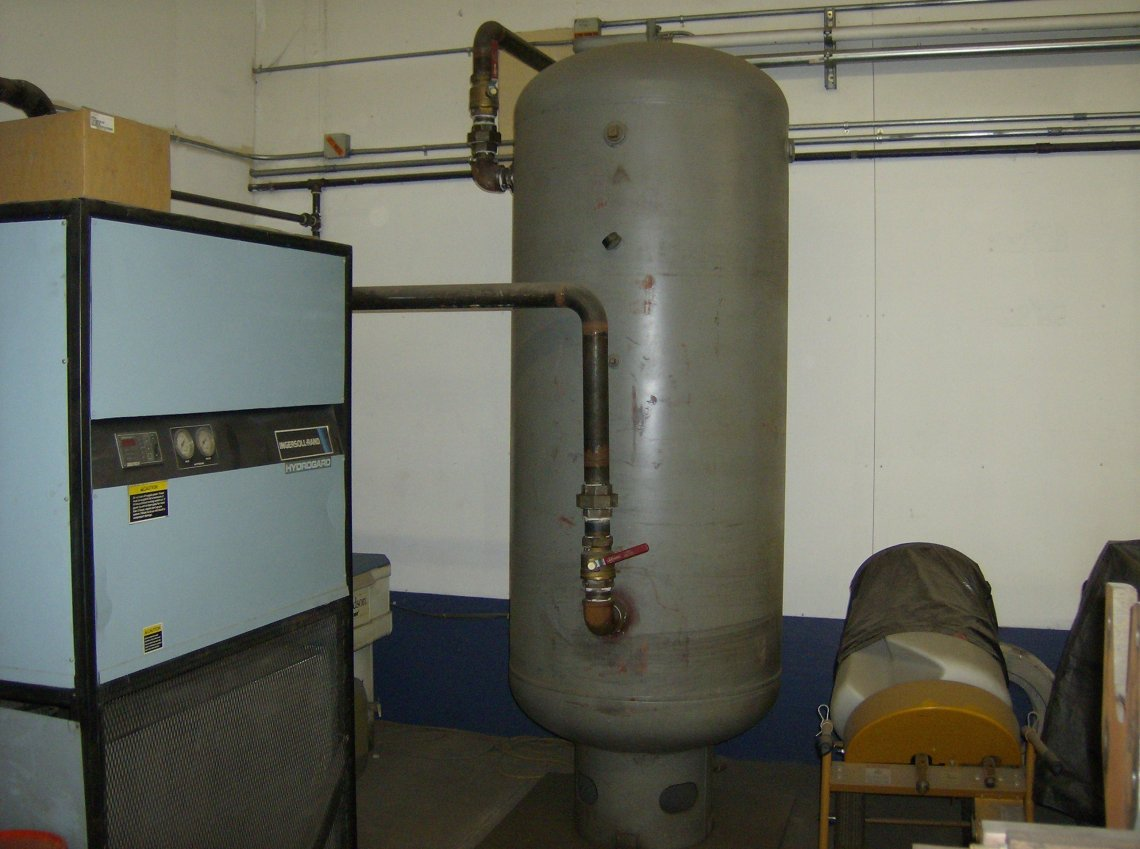 ​1 – USED 200 HP INGERSOLL RAND SCREW TYPE AIR COMPRESSOR