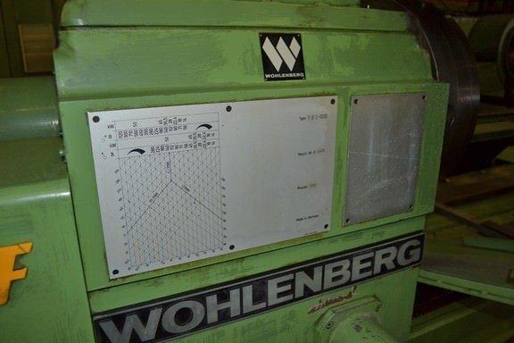 """1 – USED 39"""" X 393"""" WOHLENBERG PB2-1000 B CNC PERFORMANCE DEEP HOLE BORING LATHE"""