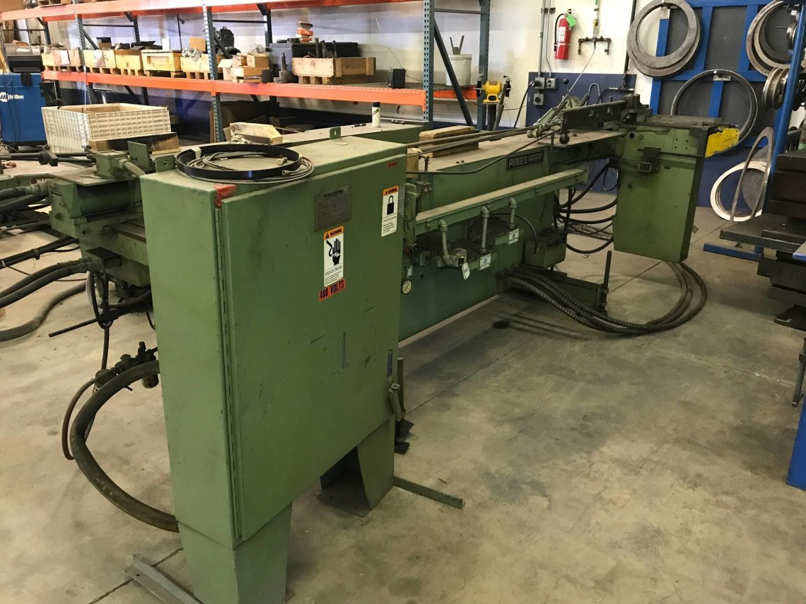 ​1 – USED #1 PINES HYDRAULIC TUBE BENDER C-5320