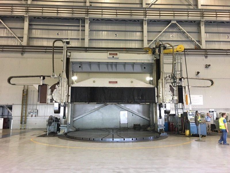 "1 – USED 300"" FARREL 5-AXIS VERTICAL BORING MILL"
