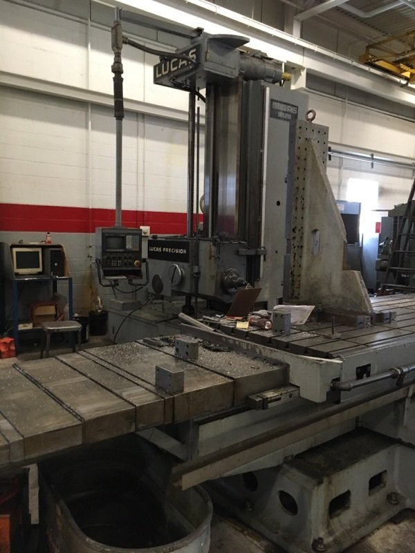 "1 – USED 5"" LUCAS CNC TABLE TYPE HBM"
