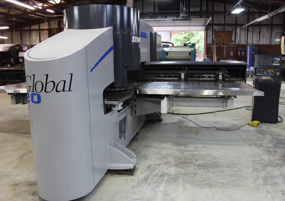 1 – USED STRIPPIT GLOBAL 1225/20 CNC TURRET PUNCH MACHINE