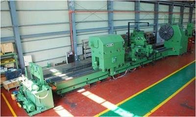 """1 – USED 110"""" X 433"""" INNSE (ITALY) CNC FLAT BED LATHE"""