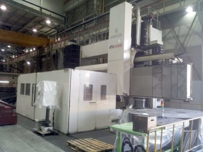 """1 – USED HANKOOK VTC 3050E 157"""" / 197"""" CNC VERTICAL TURNING CENTER WITH LIVE TOOLING"""