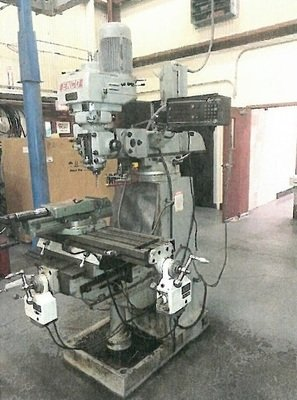 1 – USED 2 HP ENCO VARIABLE SPEED VERTICAL MILL