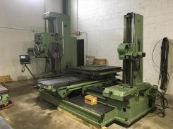 "1 – USED 4"" TOS W100A MANUAL HORIZONTAL BORING MILL C-5271"
